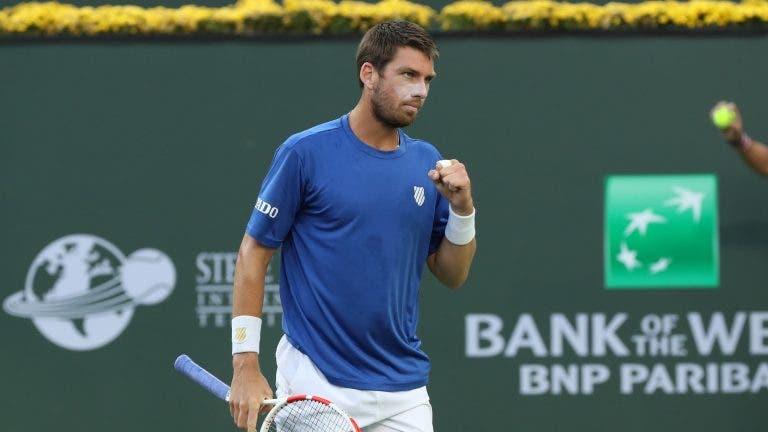 Norrie vira sobre Basilashvili e conquista o título em Indian Wells