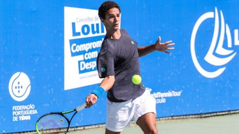 Pedro Araújo fica pelas meias-finais no Loulé Open