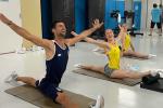 Djokovic encanta melhor ginasta portuguesa e recebe elogios até de Nadia Comaneci